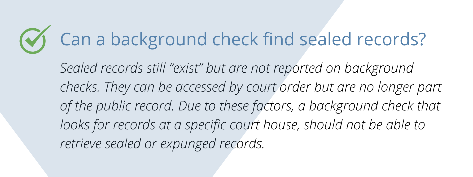 Tips for Carefully Using Arrest Record on Pre-Employment Background Checks