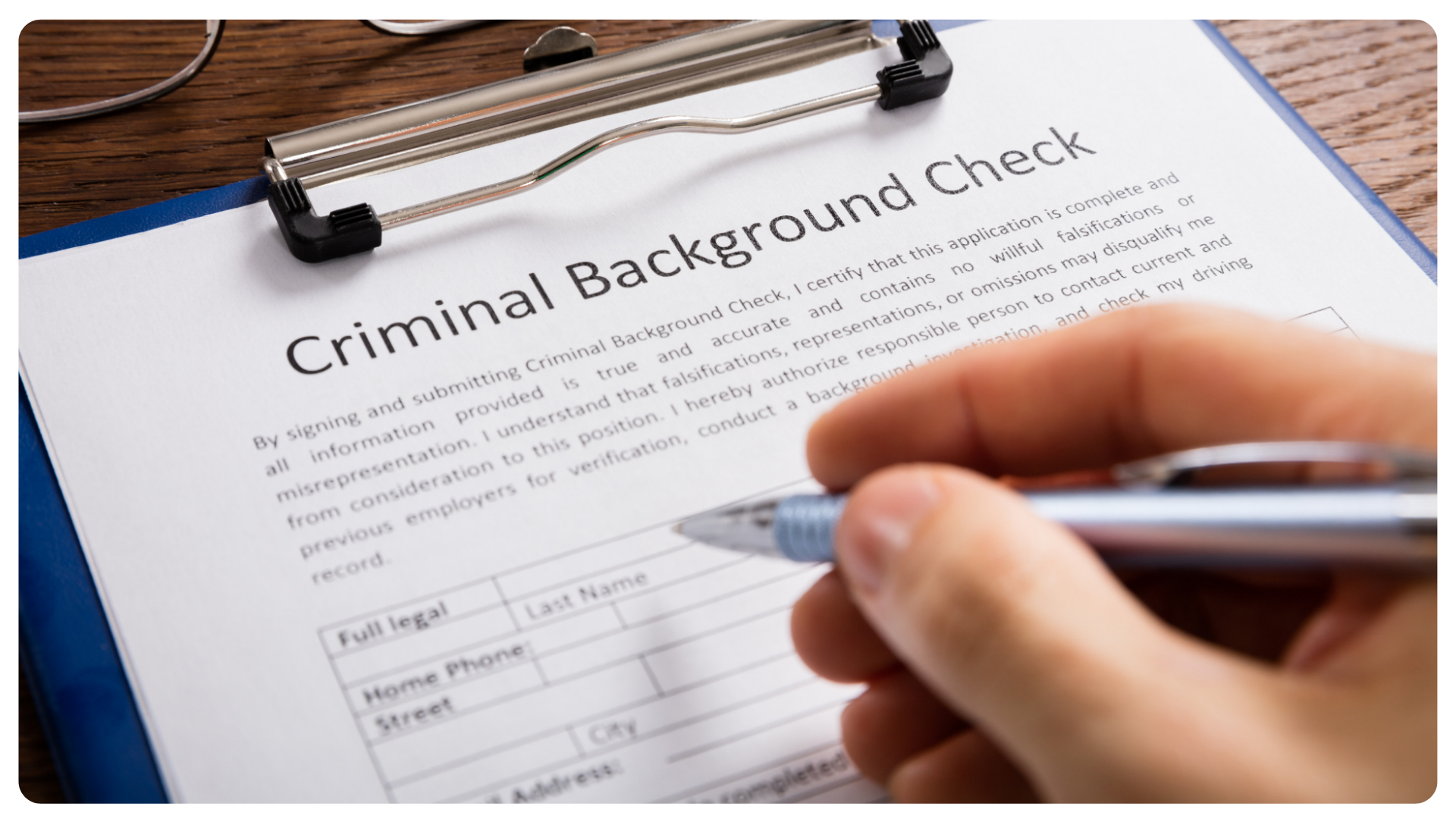 perosnal background check