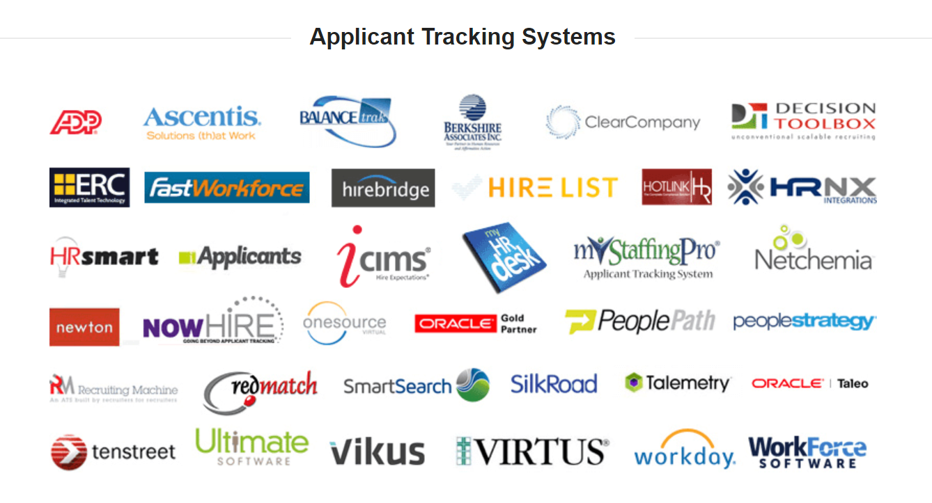 Peopletrail Integrated Partners Applicant Tracking Systems