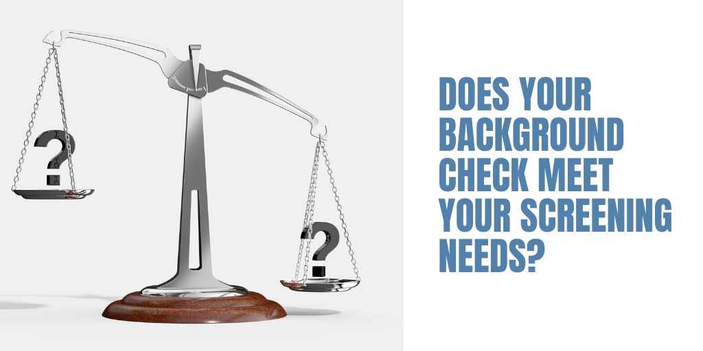 How many levels of background checks are there?