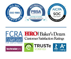 Consumer reporting agency accreditation.